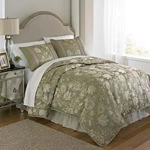 Amazon Com Extreme Linen Aida Comforter Set King