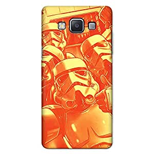 CrazyInk Premium 3D Back Cover for SAMSUNG A5 2015 - Star War Selfie