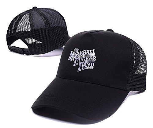 [LIFA The Marshall Tucker Band Logo Mesh Cap Embroidery Baseball Mesh Hat] (Banshee Costumes)