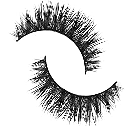 Imported 1 Pair Handmade Natural Soft Mink Hair Thick Eye Lashes False Eyelashes-D-7