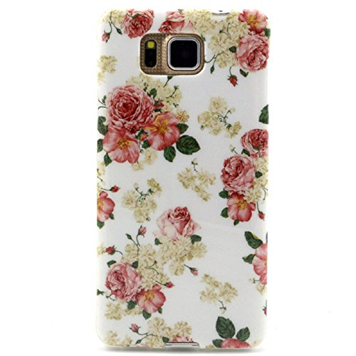 Tonsee Pattern Case For Samsung Galaxy Alpha G850 (Floral) (Samsung Alpha Case Custom compare prices)