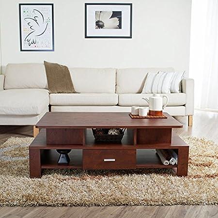 Trenzi Tiered Storage Coffee Table