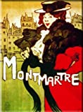 FRENCH VINTAGE METAL SIGN 20X15cm RETRO POSTER MONTMARTRE PARIS France