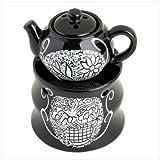 Home Decor Teatime Fragrance Oil Warmer Tealight Burner