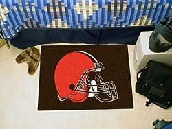 """Cleveland Browns 20""""x30"""" Starter Floor Mat (Rug)"""