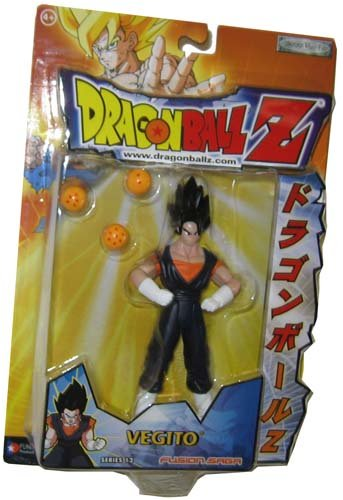 Buy Low Price Jakks Pacific Vegito – Dragonball Z RARE Series 12 – 6″ Action Figure Toy (B001IKEBCY)