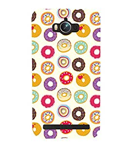 Circle Pattern Cute Fashion 3D Hard Polycarbonate Designer Back Case Cover for Asus Zenfone Max ZC550KL :: Asus Zenfone Max ZC550KL 2016 :: Asus Zenfone Max ZC550KL 6A076IN