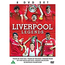 Liverpool Legends - 5 DVD SET