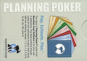 Planning Poker Cards (16 Player Pack)