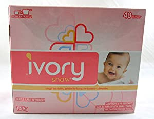 Ivory Snow Gentle Care Laundry Detergent, 40 Loads