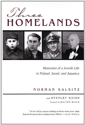Three Homelands: Memories of a Jewish Life in Poland, Israel, and America (Religion, Theology, and the Holocaust)