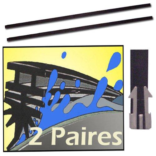 Prix 4 balais essuie glaces silicone a d couper - Les inserts les plus performants ...
