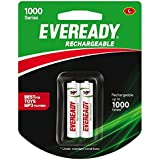 Eveready Recharge AAA BP2 600 NIMH 4PC Battery (1000 Series)
