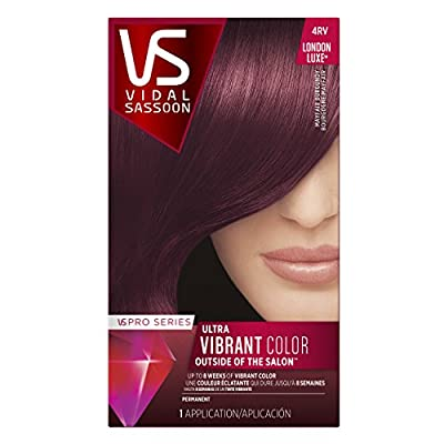 Best Cheap Deal for Vidal Sassoon Pro Series London Luxe Hair Color Kit, 4RV Mayfair Burgundy by Vidal Sassoon - Free 2 Day Shipping Available