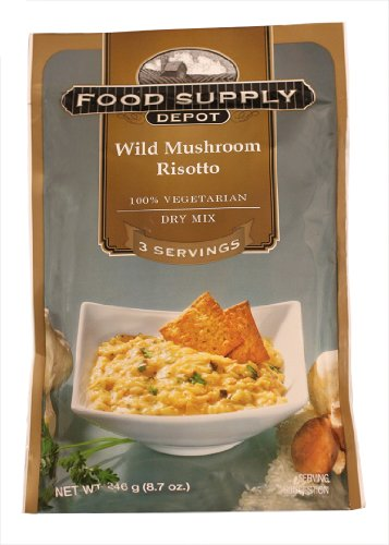Stansport Food Supply Depot Mushroom Risotto, 20-Count
