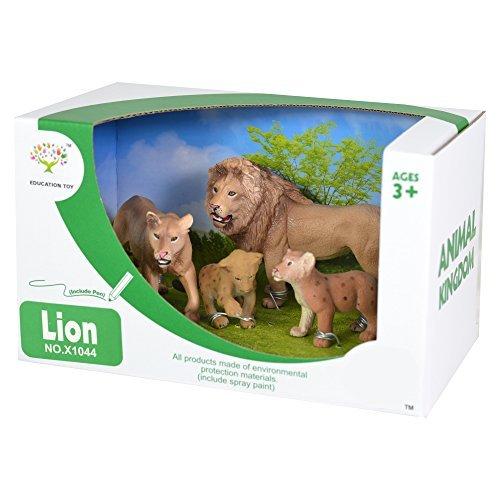 animal-kingdom-wild-life-4-lion-figure-set-lioness-cub