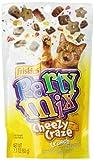 Friskies Party Mix Cat Treats, Cheezy Craze Crunch, 2.1-Ounce Pouch, Pack of 10