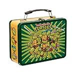 Vandor 38070 9 by 7.5 by 3.5-Inch Teenage Mutant Ninja Turtles Tin Tote, Multicolored