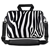 ChaoDa Zebra 13″ 13.3″ inch Notebook Laptop Shoulder Case Carrying Bag for Apple Macbook pro 13/Macbook Air 13/Samsung/DELL XPS inspiron/HP/TOSHIBA 830/SONY SD4/ASUS B23/ACER/LENOVO Thinkpad X1/GATEWAY