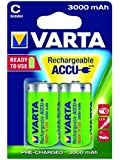 Varta Rechargeable Accu Ready2Use C Baby Ni-Mh Akku (2-er Pack, 3000 mAh)
