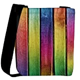 Snoogg Colourful woods Womens Carry Around Cross Body Tote Handbag Sling Bags