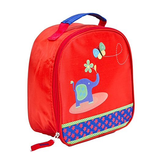 Aquarella Kids Zoo Lunchbox, Red