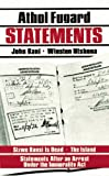 Statements (0930452615) by Fugard, Athol