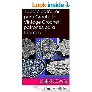 .com: Tapete patrones para Crochet - Vintage Crochet patrones para
