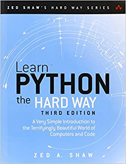 Learn to program in python the hard way