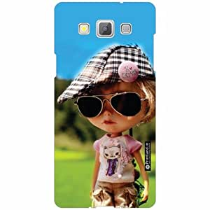 Samsung Galaxy A5 Back Cover - Silicon Hatted Girl Designer Cases