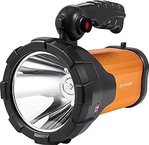 torche rechargeable lampe à distance T6 10W CREE XML LED Gearshift Lumières éblouissement Long Shot phares extérieure portable étanche haute puissance pour Chasse / Pêche / Camping - Blanc