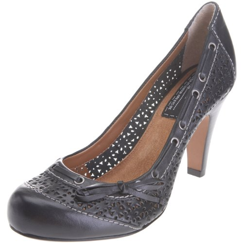 Bertie Women's Sakar Heel 10 Black  S11L/LE10/COC0030 8 UK
