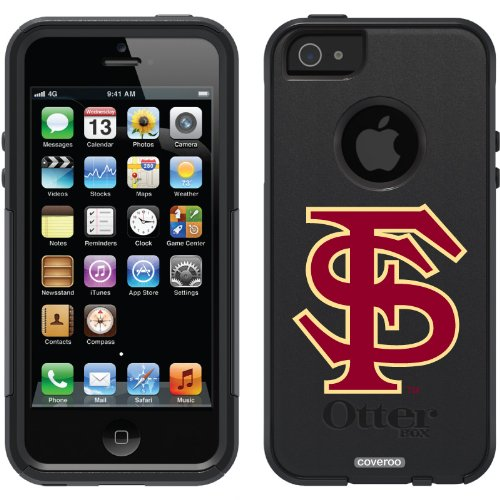 Best Price Florida State University - FS design on a Black OtterBox® Commuter Series® Case for iPhone 5s / 5