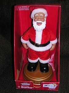 "Motion Activated 13"" Talking Mooning Santa Claus Doll - Drops his Drawers"