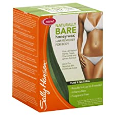 Sally Hansen Naturally Bare Hair Remover For Body, Honey Wax