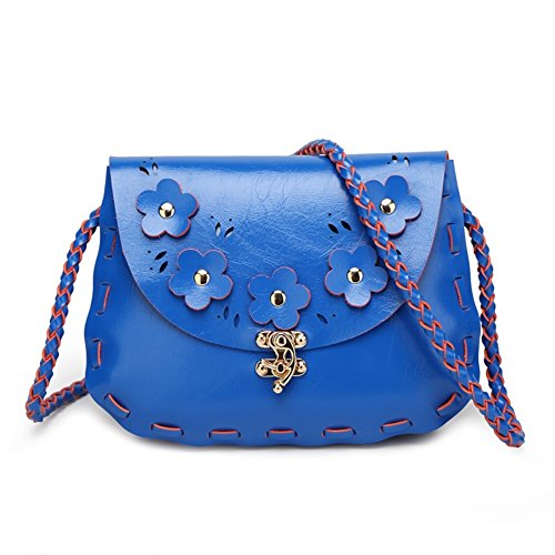 Walcy HB900223C5 Fashion PU Leather Korean Style Women's Handbag,Oval Woven Bag (Hello Kitty Bows V Neck Top compare prices)