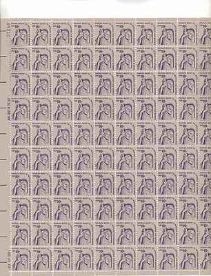 Right to Petition for Redress Sheet of 100 x 10 Cent US Postage Stamps Scot 1592