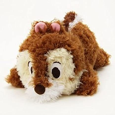 Plush Mascot fluffy butt S Chip & Dale Disney