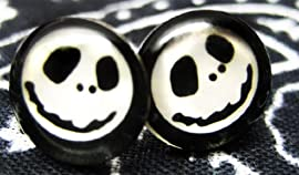 Nightmare Before Christmas Fake Stud Earring