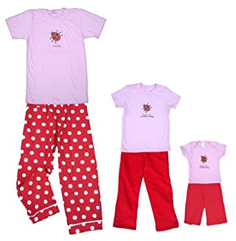 Baby Bug Pink Shirt Pant Set - Baby 12-18m, S/S, Black Pants