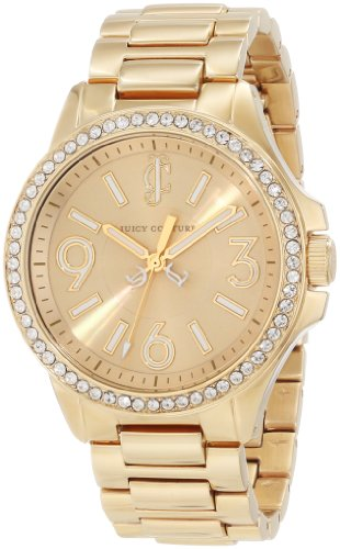 Juicy Couture Women's 1900959 Jetsetter Gold Bracelet Watch