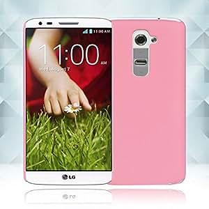 Hard Plastic Back Case Cover Skin Shell for LG G2 Color Pink