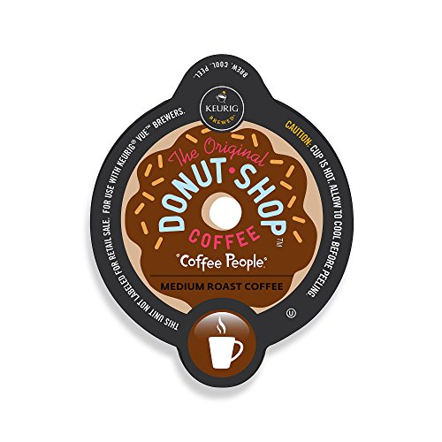 The Original Donut Shop Extra Bold Coffee, Vue Cup Portion Pack for Keurig Vue Brewing Systems (16 Count) (Keurig Vue Cup Donut Shop compare prices)