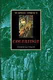 img - for The Cambridge Companion to Coleridge (Cambridge Companions to Literature) book / textbook / text book