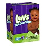 Luvs Ultra Clean Wipes 8x Tub with Refills, 576-Count