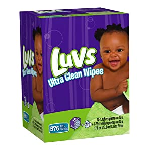 Amazon.com: Luvs Ultra Clean Wipes 8x Tub + Refills 576