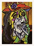 Weeping Woman By Pablo Picasso Canvas Art Print