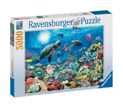 Ravensburger beneath the sea 5000 piece puzzle en for Custom 5000 piece puzzle