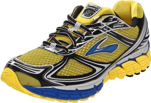 Brooks Men's Ghost5 M Yellow/Blue Trainer 1101191D704 6.5 UK, 7.5 US