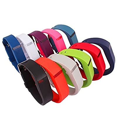 Fitbit Flex Band, Large, Rubber, Replacement Wrist Bands with Clasps for Fitbit FLEX Wireless Activity Bracelet Sport Wristband Bracelet